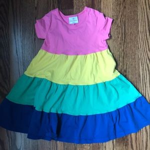 Hanna Andersson color block dress - Size 100
